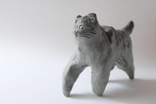 2020 6058猫グレー